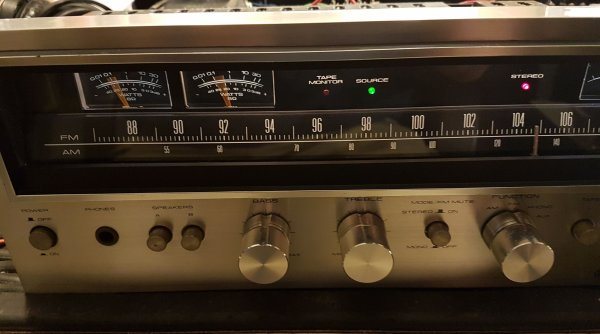 Pioneer 690 Receiver, a beauty~